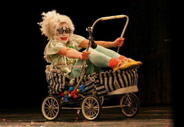 Мастер-класс актрисы клоун-мим театра Лицедеи